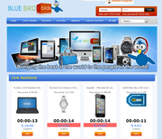 BLUEBIRDBIDS! Penny Auction Affiliate Economic Rescue Plan!
