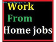 work from home,  online part time jobs, Govt rigd. Cmny,  weekly payments